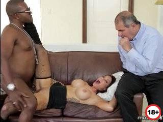 Порно муж видит измену жены