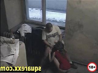 Измена жены снятое на камеру слежения